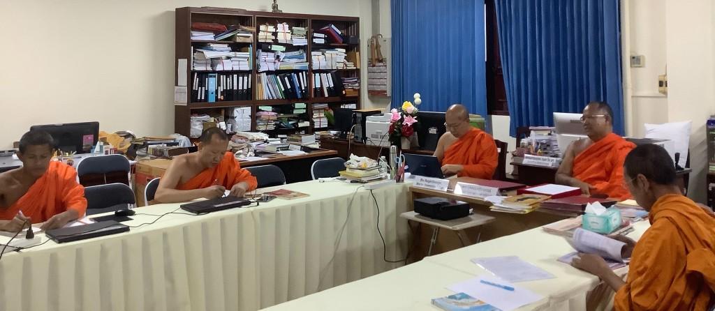 620808 รอง กต พระมงคลธีรคุณ  ประชุมเพื่อเตรียมงานศูนย์ฝึกพระธรรมทูตในประเทศนอร์เวย์ 5