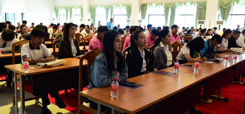 620901 พระมหาสมาน นำเสนอบทความการศึกษากลยุทธ์อินเดีย 9