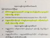 630104 รัฐบาลเมียนมาร์ถวายสมณศักดิ์ รอง บริหาร รอง กต 0