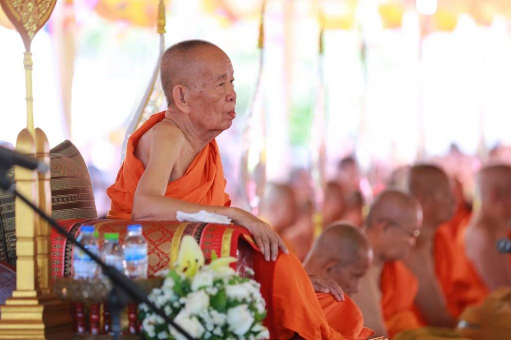 630324 อาลัย ดร.พระมหางอน ประธานสงฆ์ลาวสิ้น 3