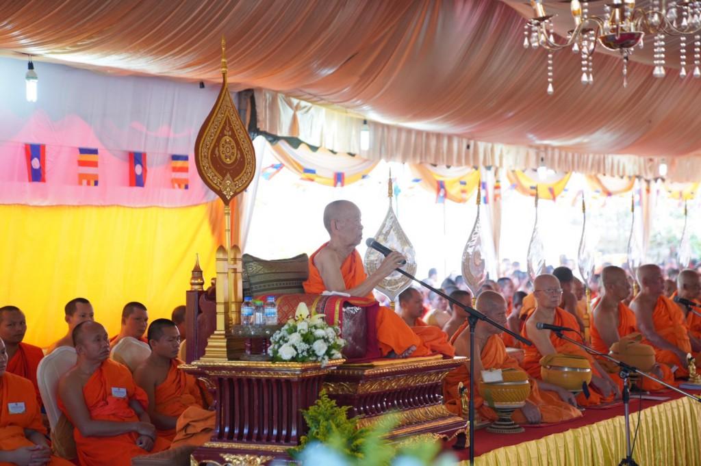 630324 อาลัย ดร.พระมหางอน ประธานสงฆ์ลาวสิ้น 5