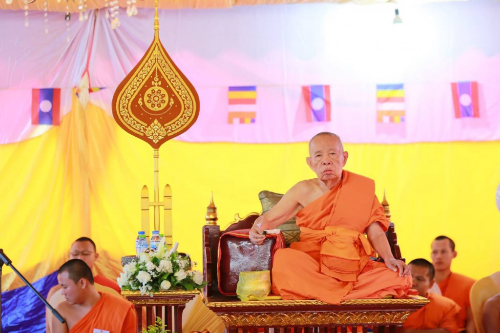 630324 อาลัย ดร.พระมหางอน ประธานสงฆ์ลาวสิ้น 7