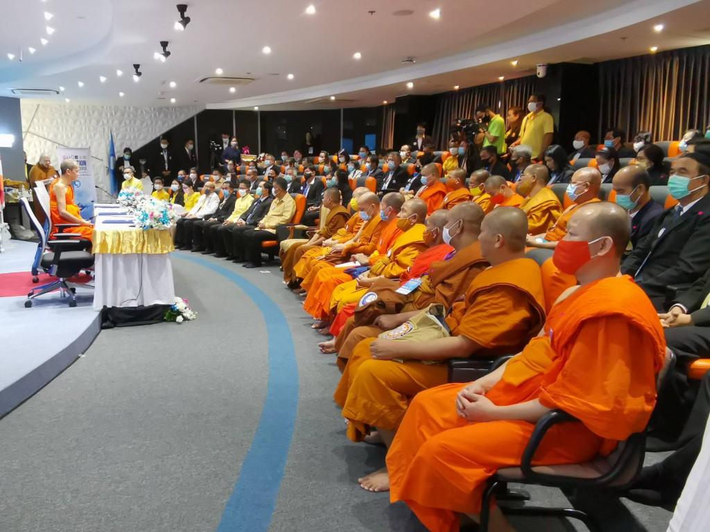 630916 อธิการบดีเปิดศูนย์ไกล่เกลี่ยพมสมานพมอนุชาร่วมงาน Ibsc 12